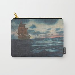 Sailing Boat- in oil Carry-All Pouch