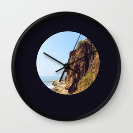 old man rock Wall Clock