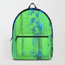 Gerhard Richter Inspired Urban Rain 2 - Modern Art Backpack