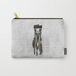 Bestial Crowns: The Crow Carry-All Pouch