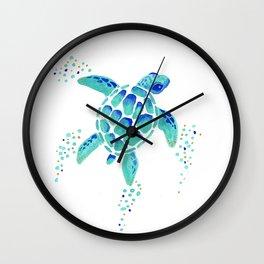 Neptune's Turtle Wall Clock