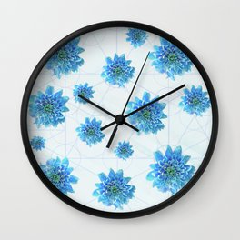 Blue calm Wall Clock