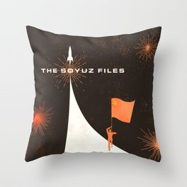 The Soyuz Files Throw Pillow
