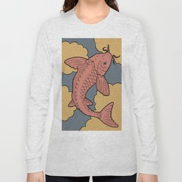 Kingyo - goldfish Long Sleeve T-shirt