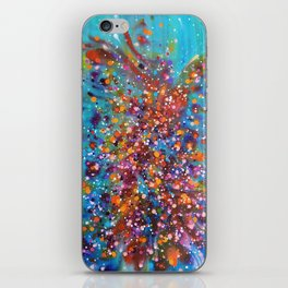 A Dance with Time and Space iPhone Skin