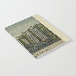 Wall Street 1847 Notebook
