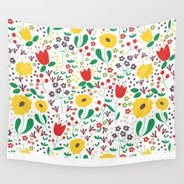 Spring Mornings Wall Tapestry