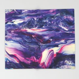 Hypnotic Hybrid - Painting Throw Blanket