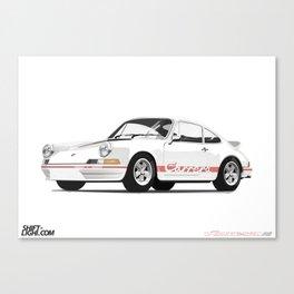 911 2.7 Carrera RS Artwork Canvas Print