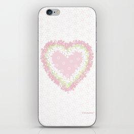 dainty heart  iPhone Skin