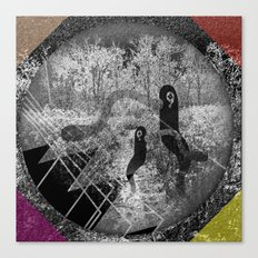 1000 days in the woods Canvas Print