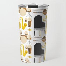 Jazz instruments Travel Mug