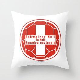 Switzerland Schweizer Nati, La Nati, Squadra nazionale ~Group E~ Throw Pillow