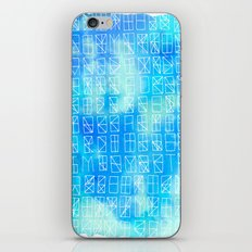 Celestrial Conversation iPhone & iPod Skin