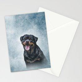 rottweiler dog Stationery Cards