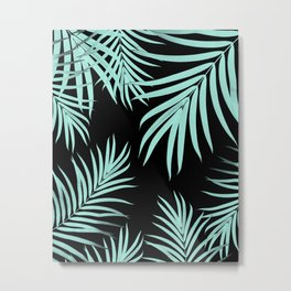 Palm Leaves Pattern Summer Vibes #6 #tropical #decor #art #society6 Metal Print