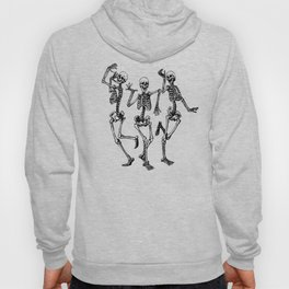 Three Dancing Skulls Hoody