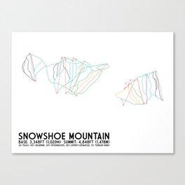 Snowshoe Mountain, WV Canvas Print