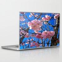 portland Laptop & iPad Skins featuring Portland Sakura by Casey J. Newman