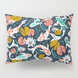 Koi Pond - Pink Pillow Sham