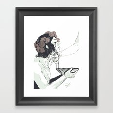 Act of Devotion Framed Art Print