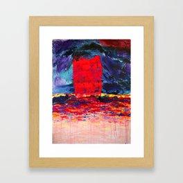 Raspberry Tsunami Framed Art Print