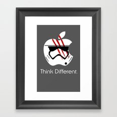 Think Different. Framed Art Print