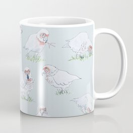 Cockatoos in blue Coffee Mug