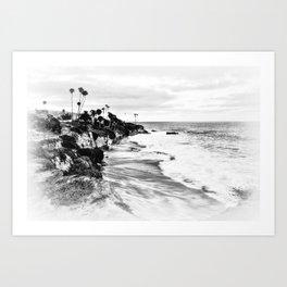 Laguna Beach xx Art Print