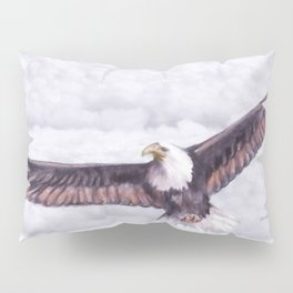 Eagle In The Clouds Pillow Sham