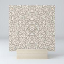 Beautiful mandala 4 Mini Art Print
