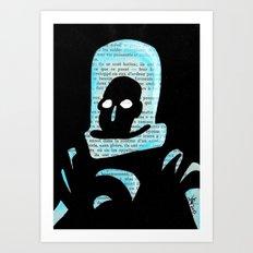 Mr Freeze Art Print