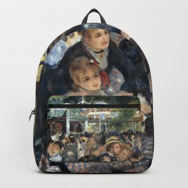 Auguste Renoir -Bal du moulin de la galette, Dance at Le moulin de la Galette Backpack