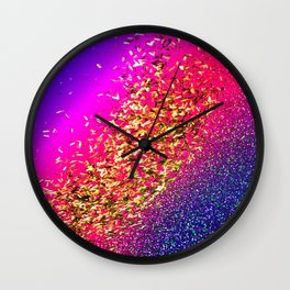 Color My Universe Wall Clock