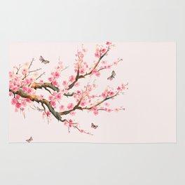 Pink Cherry Blossom Dream Rug