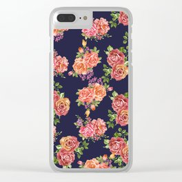 nature floral Clear iPhone Case