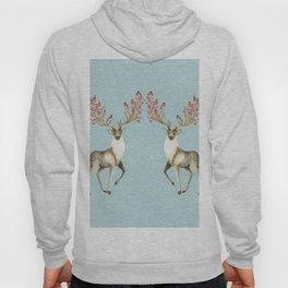 Deers With Birds #society6 #buyart Hoody