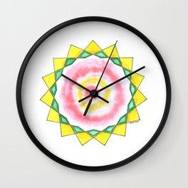 Wise Woman Star Wall Clock