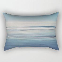 Atlantic Blue Rectangular Pillow