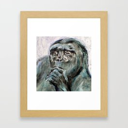 Ishmael, the Gorilla Framed Art Print