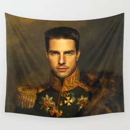 Tom Cruise - replaceface Wall Tapestry