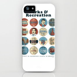 Parks and Recreation Quote Mash-Up Standard T-Shirt iPhone Case