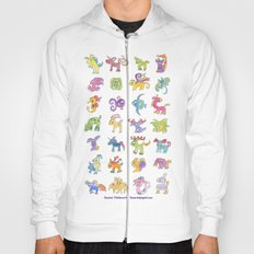 Colorful Animals Hoody