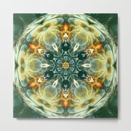 Mandalas from the Heart of Change 6 Metal Print