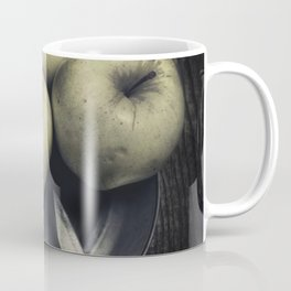 Still life with green apples Coffee Mug