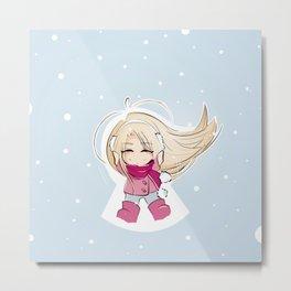 snow angel Metal Print