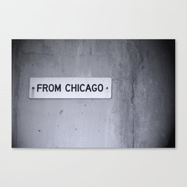 from chicago Canvas Print