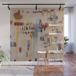 """Falling into Place"" Wall Mural"