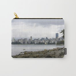 Vancouver City Skyline Carry-All Pouch