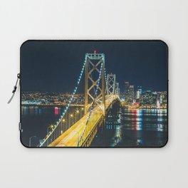 Bay Bridge Long Exposure - San Francisco, California Laptop Sleeve